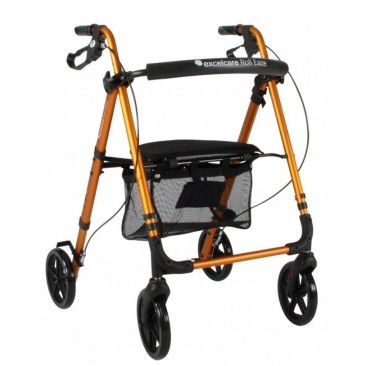 Excelcare Roll Eaze Rollator Goud