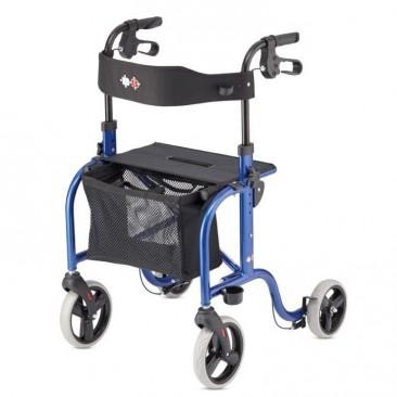 Smart Rollator Blauw
